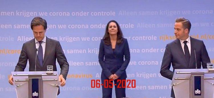 Persconferentie coronamaatregelen, 6 mei 2020